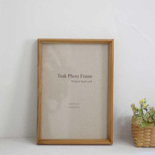 フォトフレーム(A4サイズ)【フォトフレーム 写真 フレーム 木製 インテリア おしゃれ】【北欧 ナチュラル おしゃれ カフェ 雑貨】