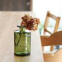 バレンシア リサイクル ガラス SIETE【ガラス フラワーベース 花瓶 再生ガラス 花器 リサイクルガラス】【北欧 ナチュラル おしゃれ カフェ 雑貨】