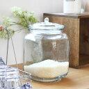 ダルトン(DULTON) GLASS COOKIE JAR ガラスクッキージャー(CH00-H05)【米びつ 5kg ライスボックス 保存容器 ガラス瓶 キャニスター 北…