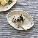 STUDIO M'(スタジオM/スタジオエム) アーリーバード(オーバルプレートS)【食器 おしゃれ ツバメ 菓子皿 楕円皿 小皿…