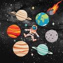 【定形郵便 100円】宇宙 シリーズ ワッペン 刺繍 アップリケ ミシン 手芸 地球 月 木星 火星 土星 宇宙飛行士