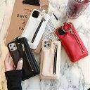iPhone ジップケース  スマホケース 小銭入れ 収納 携帯ケース アイフォン ケース iPhone11 iPhone11pro iPhone…