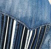 ワンピースロングデニムシャツ七分袖大きめサイズ小さいサイズXS2L3Lデート秋冬カジュアル