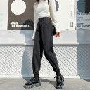 テーパード デニムパンツ ジーンズ レディース ボトムス ジーパン 大きいサイズ 3l 4l 5l 6l ゆったり ハイウエスト 黒 ブラックデニム シンプル カジュアル おしゃれ 韓国 ファッション