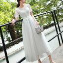 ウェディングドレス 白 二次会 花嫁 ウェディングドレス ミモレ丈 大きいサイズ 袖あり フィッシュテール 小さいサイズ 結婚式