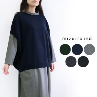 mizuiro ind ミズイロインド mizuiro-ind. It is fall and winter in spring for 50 generations for cocoon wide best short-sleeved pullover thin ゆったりゆる 20 generations in 30s in 40s