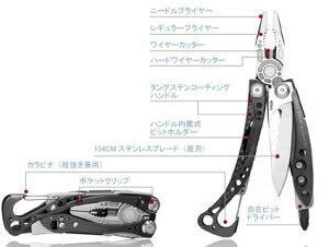 LEATHERMAN レザーマン SKELETOOL CX スケルツールCX LTJマーク入り日本正規品