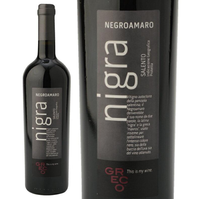 (2015)【ミディアムボディ】【フルーティー】ネグロアマーロ ニーグラ赤ワインロマンド グレコ(750ml)