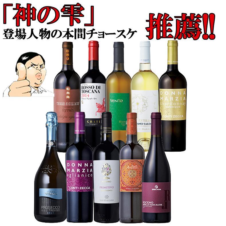 本気セット追加販売【第4弾】イタリア政府公認ソムリエとあのイタリアワインの怪人のタッグ【赤ワイン中心】金賞ワイン多数 EPA