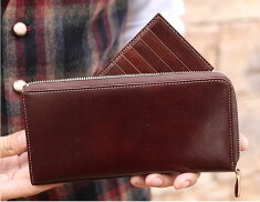 イタリア革カードケース