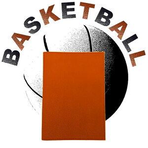 【第16弾】バスケットボール 本革 ノートカバー A5サイズ
