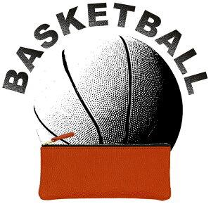 【第21弾】バスケットボール ペンケース メンズ レディース 本革 グッズ 雑貨 プレゼント おしゃれ