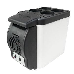車載 冷蔵庫 保温庫 6L 軽量1.8k 保冷温庫 小型 ポータブル シガー電源 12V ミニ冷蔵庫 保温庫 保冷ボックス 保温ボックス カー用品