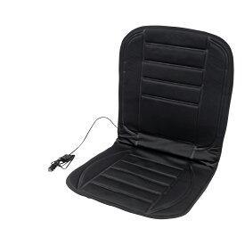 シートヒーター 助手席 12V 簡単取付 速暖 シガー電源 温度調整スイッチ ホットシート シートカバー 暖房 背中 腰 足 ポカポカ 暖かい