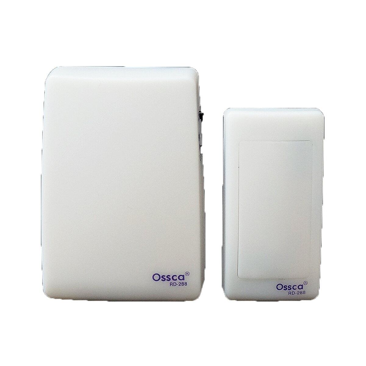 ワイヤレス チャイム 電池式 光と音でお知らせ 25音種 簡単設置 工事不要 呼び鈴 コードレスチャイム 呼び出しベル 呼びベル インターホン インターフォン コールチャイム 無線 玄関 _72016