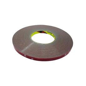 両面テープ 強力 10mm 幅 厚さ 1mm 長さ 30m 耐水 ライナー たっぷりロングな30M巻き 業務用両面テープ ブチルゴム 内装 外装 消耗品 メンテナンス DIY カー用品