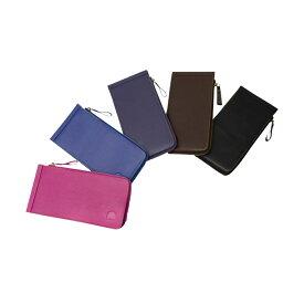 カードケース 牛本革製 ブックタイプ カード 26枚収納 選べる5色 メンズ レディース カード入れ 財布 Suica 診察券 名刺入れ 専用ケース・ロゴ入り巾着付き 贈り物 @82121