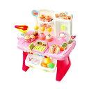 お店屋さんごっこ おもちゃ おままごと セット スーパーマーケット 34pcs 知育玩具 ごっこ遊び おみせやさん スイーツ…