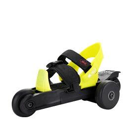 ローラースケート 18cm〜23.5cm 自動サイズ調整 かかとブレーキ 選べる4色キッズ 子供 ローラーシューズ 靴のまま履ける 次世代 スケートレッド/ブルー/ブラック/イエロー @85362