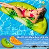 浮き輪フロート選べるフルーツ型大きな浮き輪1.78m×85cm海水浴海プールインスタ映え夏レジャー水遊びビッグフロート目立つかわいいユニーク目立つあす楽対応【送料無料】_85395