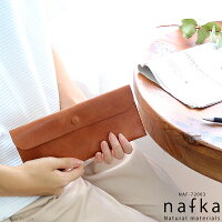 長財布レディースnafkaナフカ薄い薄型軽い本革リアルレザーナチュラルシンプルかわいい日本製ロングウォレット