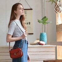ショルダーバッグレディース本革手縫いかわいい丸型ミニバッグ2wayおしゃれナチュラル斜め掛けフラップハンドバッグ