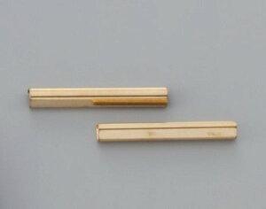 へり止め金具<4cm> (協進エル) <2本> レザークラフト金具 レザークラフト クラフト 手芸 がま口 がまぐち 小物入れ ハンドメイド