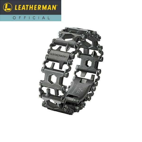【公式】[日本正規品 25年保証] LEATHERMAN(レザーマン) METRIC TREAD(メトリック トレッド) Black マルチツール 時計 ブレスレット 工具 アウトドア ミリタリー