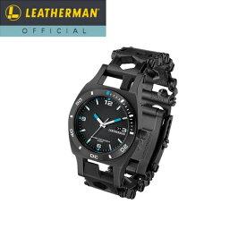 【公式】[日本正規品 25年保証] LEATHERMAN(レザーマン) TREAD TEMPO(トレッド テンポ) Black マルチツール 時計 ブレスレット 工具 アウトドア ミリタリー