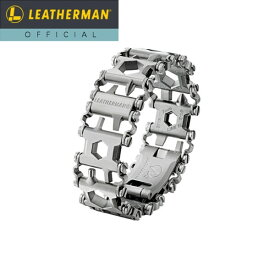 【公式】[日本正規品 25年保証] LEATHERMAN(レザーマン) METRIC TREAD(メトリック トレッド) マルチツール 時計 ブレスレット 工具 アウトドア ミリタリー