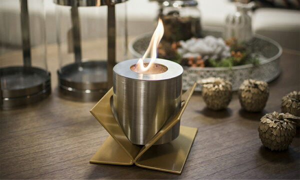 GlammFireグラムファイヤーKIVOTABLETOPテーブルトップ卓上バイオエタノール暖炉ストーブ暖房