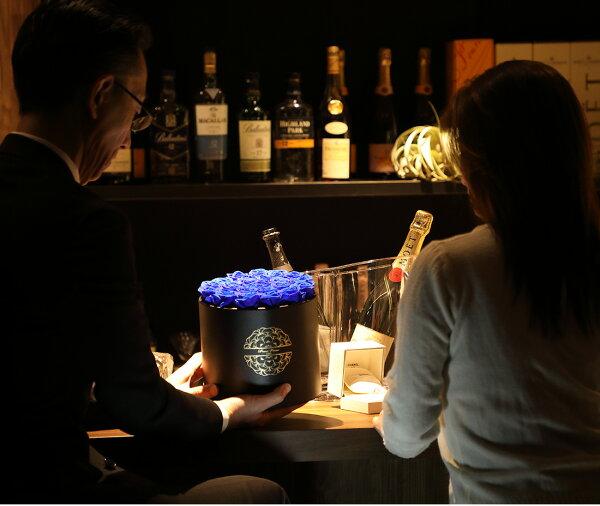 プリザーブドフラワープレゼントギフト「ジュテームプールトゥジュール」【無料ラッピング】【無料ギフトバック】【送料無料】花おしゃれお返し誕生日ギフトインスタ映え新築祝い誕生日開店祝い結婚祝い