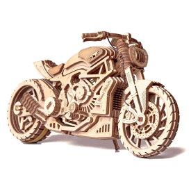 Wood Trick ウッドトリック モーターバイクDMS 3Dウッドパズル