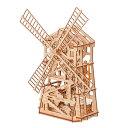 【楽天スーパーSALE】 Wood Trick ウッドトリック ノームの風車 3Dウッドパズル 子供も大人も楽しめる木製パズルの組…