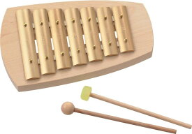 アウリス AURIS 楽器 鉄琴 真鍮 シェルズグロッケン ペンタトニック7音