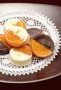 銀座スイーツ『2種類のガレットオランジェ』32個入り詰合せスイートチョコとホワイトチョコを食べ比べてみて下さい【…