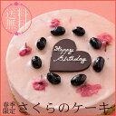 【季節限定!送料無料!】春の訪れをご自宅で感じられるケーキ『さくらのケーキ』【誕生日】【記念日】【smtb-T】【ネット限定】