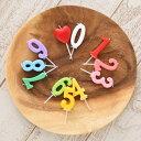 お誕生日や結婚記念日のお祝いに。『ナンバーキャンドル』(この商品のみのご購入は承れません。)