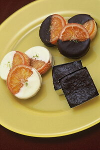 銀座ル・ブランのオレンジの甘味と皮の渋みが絶妙の『2種類のガレットオランジェ』と濃厚なチョコレートの風味が楽しめる『フォンダンショコラ』の計16個入り【内祝い】