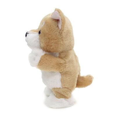 ウォーキングトーキングパピー柴犬/シバイヌ(犬グッズ犬雑貨/誕生日記念日バースデープレゼントギフト小学生女の子女性大人交換かわいいイヌおもちゃ結婚祝い出産祝いぬいぐるみ犬)