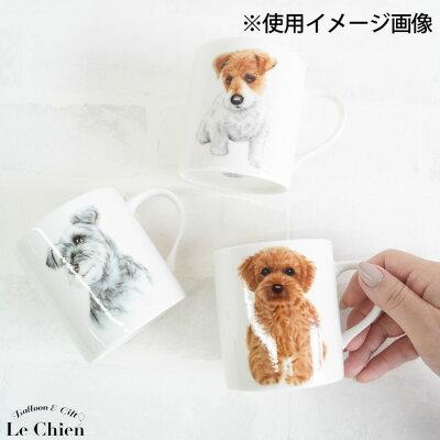 犬モチーフの食器