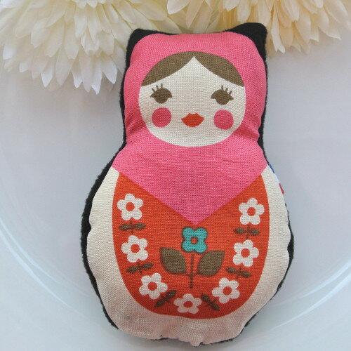 【猫オモチャ】またたびにゃトリョーシカ ピンク (またたび入り猫ちゃんのおもちゃ) 卒業式 プレゼント ギフト お返し ルシアン