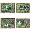 プードル ゴブラン織り 犬 プレースマット テーブルセンター 犬雑貨 犬オーナーグッズ インテリア雑貨 アメリカ製 ギフト 贈り物 …