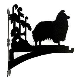 【送料無料】ハンギングバスケット シェルティー (From UK) (ペット用品 犬グッズ ワンちゃん わんこ グッズ アニマル 動物 プレゼント ギフト ガーデニング雑貨 通販 楽天) 卒業式 プレゼント ギフト お返し ルシアン