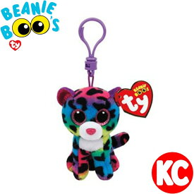 TY キーホルダー ドッティ Beanie Boo's ビーニーブーズ キークリップ 女の子 プレゼント ギフト かわいい キラキラ レインボー 送料無料 ルシアン