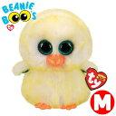 TY ぬいぐるみ ビーニーブーズ レモンドロップ 黄色い鳥 Mサイズ 15cm Beanie Boo's あす楽 出産祝い 誕生日 プレゼント かわいい キラキラ インテリア ギフト ルシアン