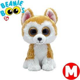 TY ぬいぐるみ 秋田犬のロイ 柴犬 Mサイズ 15cm Beanie Boo's あす楽 出産祝い 誕生日 プレゼント かわいい キラキラ インテリア ギフト ルシアン