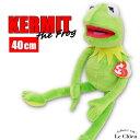 ぬいぐるみ カーミット KERMIT ジムヘンソン ザマペッツ カーミット ザ フロッグ カエル かえる Lサイズ ディズニー セサミス…