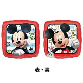 バルーン ヘリウムガス入り ミッキーロードスター 45cm ディズニー風船 ミッキーマウス