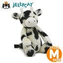 Jellycat ジェリーキャット Mサイズ うし ウシ Bashful Calf M 31cm 牛 丑 出産祝い 女の子 男の子 ファーストトイ 手触りのいい ぬい…